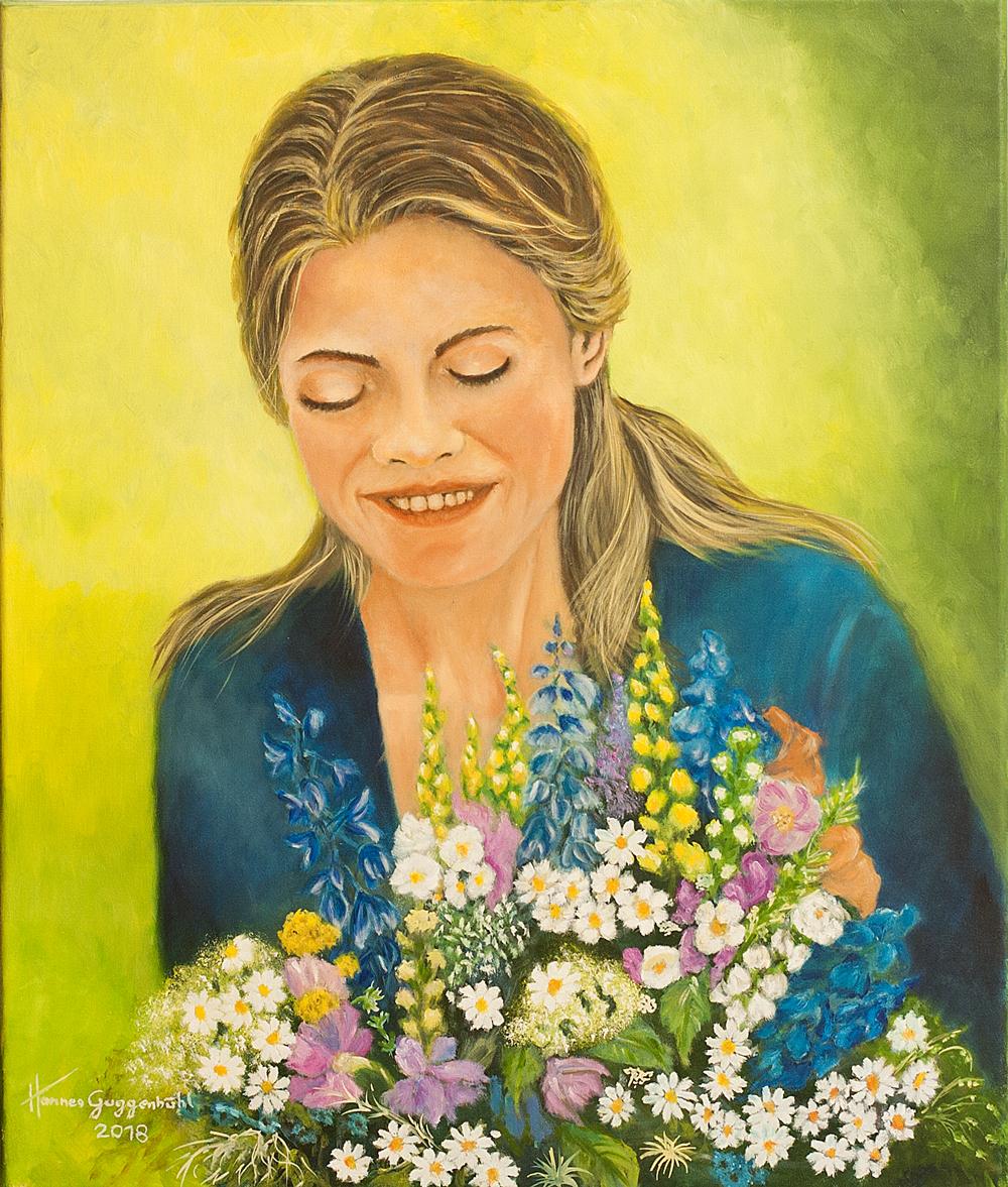 Blumenbinderin